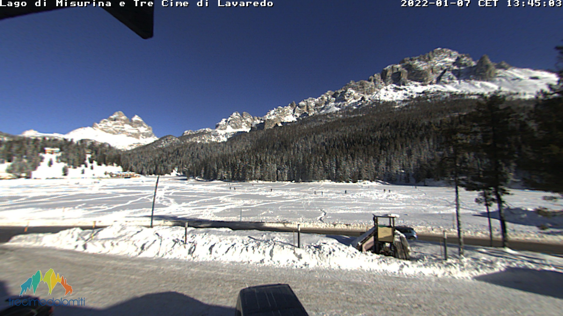 Webcam Auronzo di Cadore - Monte Agudo
